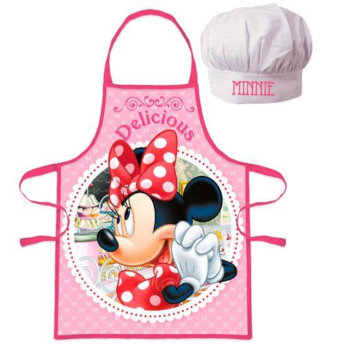 Minnie Mouse Conjunto Delantal