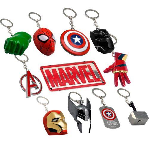 Marvel Pack Llaveros 3D