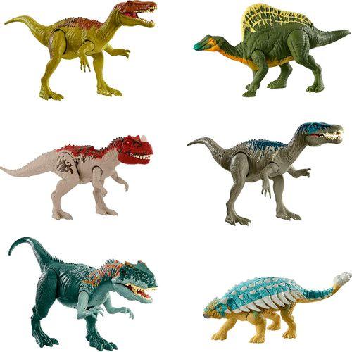 Jurassic World Ataque y Rugido Figura Surtida