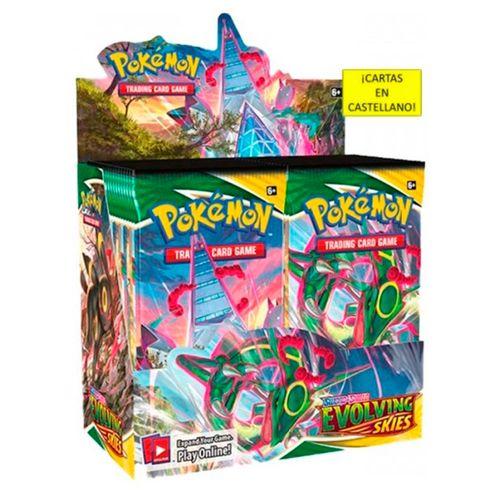 Pokémon Sobre Cartas Individual Cielos Evolutivos