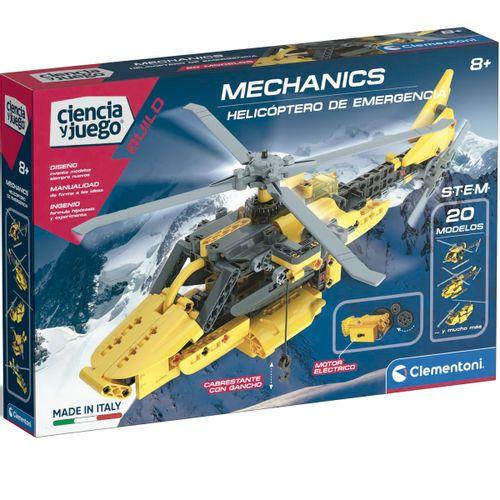 Ciencia y Juego Mecanics Helicóptero de Emergencia