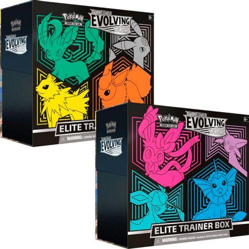 Pokémon Caja Entrenador Elite Cielos Evolutivos ST