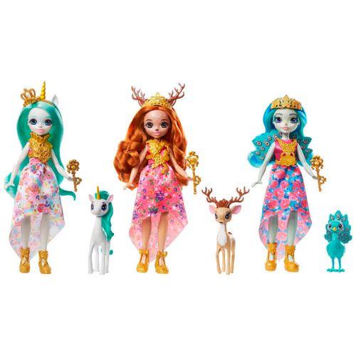 Enchantimals Royals Muñeca con Mascota Surtida