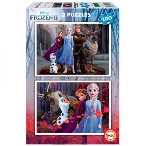 Frozen 2 Puzzle 2x100 Piezas