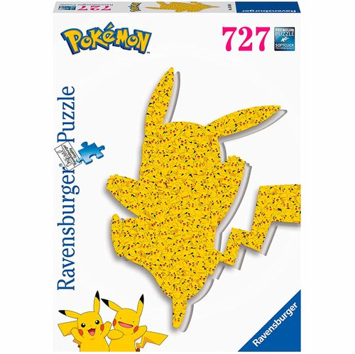 Pokémon Puzzle Silueta Pikachu 727 Piezas