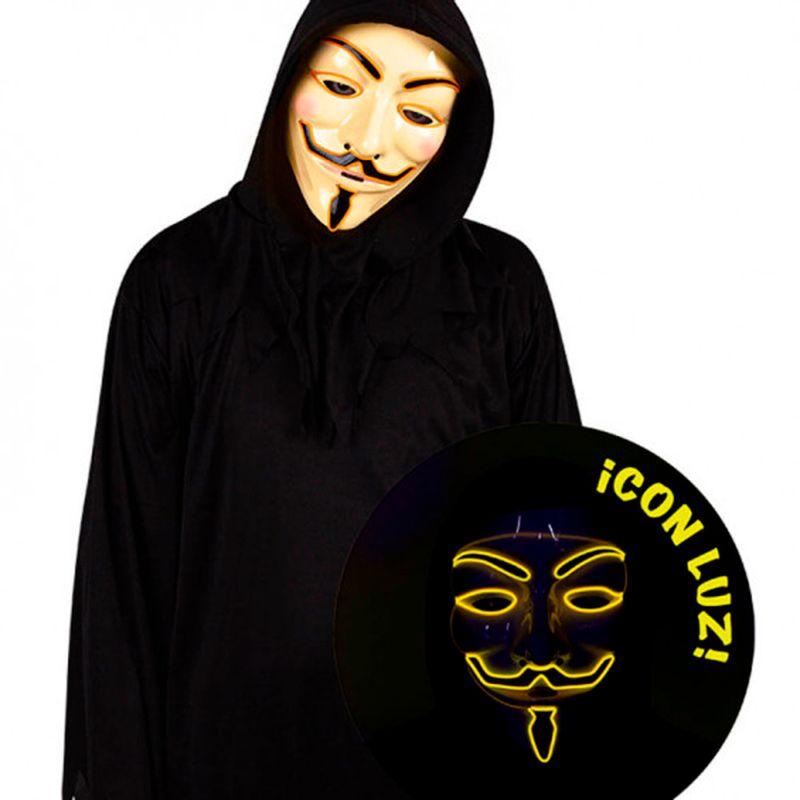 Mascara-Anonymous-con-Luz
