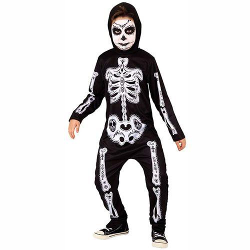 Disfraz Huesud@ Muertos Infantil