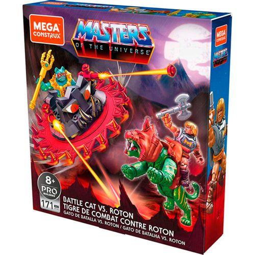 Masters del Universo Mega Construx Gato Batalla