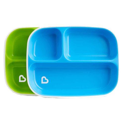 Pack 2 Platos con Compartimentos