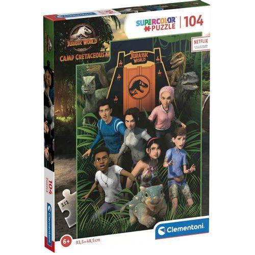 Jurassic World Campamento Cretácico Puzzle 104 Pzs