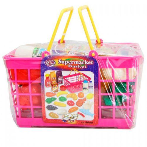 Cesta Supermercado Infantil 25 Piezas