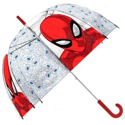 Spiderman Paraguas Transparente