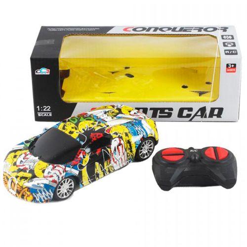 Vehículo R/C Sports Car Grafitti 1:22