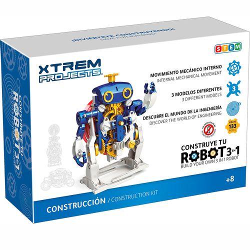 Construye Tu Robot 3 en 1