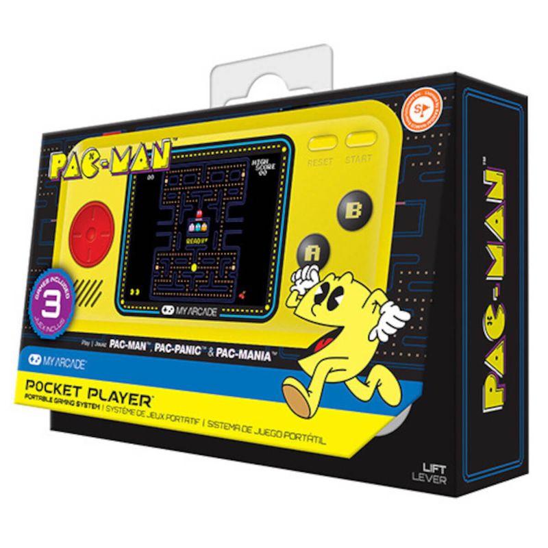 My-Arcade-Pocket-Player-Pacman--3-juegos--Consola