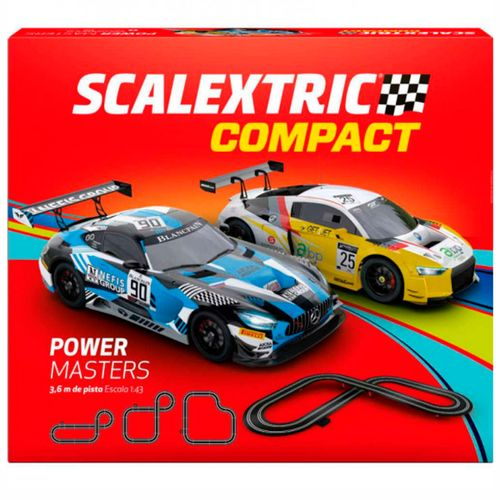 Scalextric Compact Circuito Power Masters 1:43