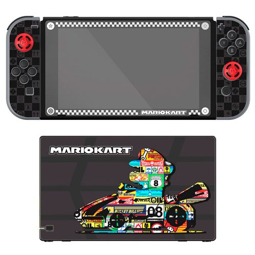 Play And Protect Skins Mario Kart Edition SWITCH