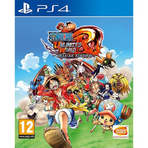 One Piece: Unlimited World Red Edición Deluxe PS4
