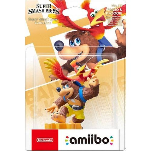 Figura Amiibo Banjo Kazooie (Serie SSB)