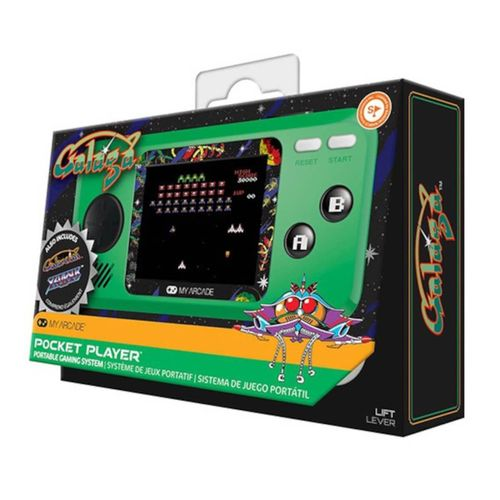 My Arcade Pocket Player Galaga Consola