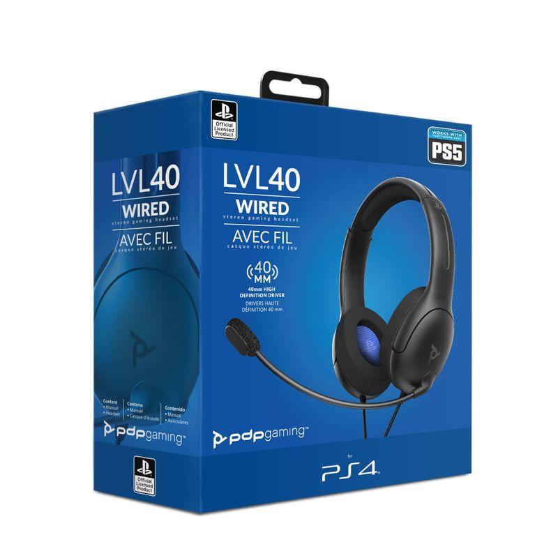 LVL40-Wired-Negro-Auricular-Gaming-Licenciado--PS4-5-