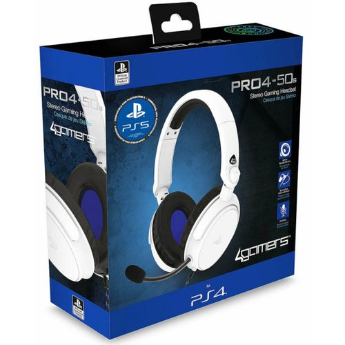 PRO4-50S Blanco Gaming Stereo -  Licensed PS4/5