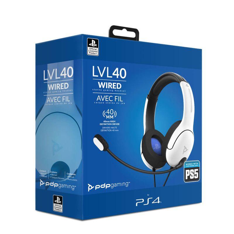LVL40-Wired-Blanco-Auricular-Gaming-Licenciado--PS4-5-