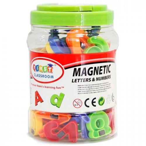 Cubo Letras + Números Magnéticos