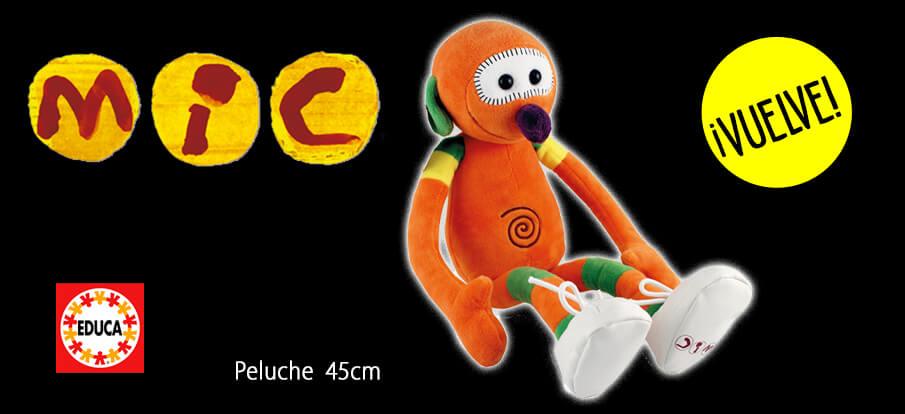 Club Super 3 Peluche del Mic