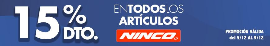 promoción Ninco 15% dto